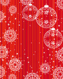 Christmas and New Year's background Stock Photography