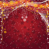 Christmas and New Year's background royalty free stock image