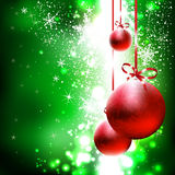 Christmas and New Year`s background Stock Photo