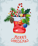 Christmas and New Year`s background Royalty Free Stock Photography
