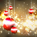 Christmas and New Year`s background Stock Photos