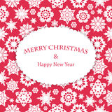 Christmas and New Year's background Stock Photos