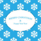 Christmas and New Year's background Royalty Free Stock Images