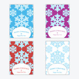 Christmas and New Year's backgrounds with snowflakes. Print of snowflakes .Christmas and New Year banners.Postcards Royalty Free Stock Images