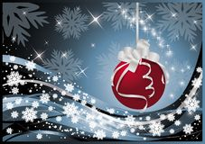 Christmas & New-Year's  card Royalty Free Stock Photo