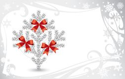 Christmas & New Year's card royalty free illustration