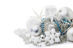 Christmas and New Year's decoration Stock Photos