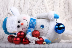 Christmas and New Year's decorations Royalty Free Stock Photos