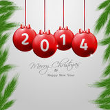 Christmas and New Year�s Eve Background Stock Images