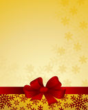 Christmas & New-Year's greeting card Royalty Free Stock Images