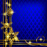 Christmas and New-Year's greeting card Royalty Free Stock Photography