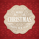 Christmas and New Year's Greeting Card Stock Photography