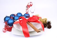 Christmas or New Year's setting Stock Photography