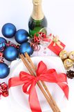 Christmas or New Year's setting Royalty Free Stock Images