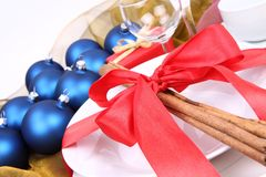 Christmas or New Year's setting Royalty Free Stock Photography