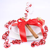 Christmas or New Year's setting Royalty Free Stock Photos