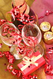 Christmas and New Year's setting Royalty Free Stock Photography