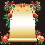 Christmas and New Year's vintage background. Stock Image