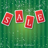 Christmas and new year sale banner Royalty Free Stock Image