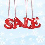 Christmas and New Year sale Stock Images