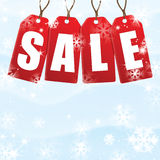 Christmas and New Year sale Stock Photos