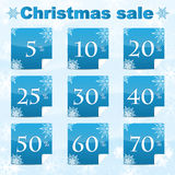 Christmas and New Year sale Royalty Free Stock Photography