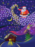 Christmas and New Year, Santa Claus Royalty Free Stock Photography