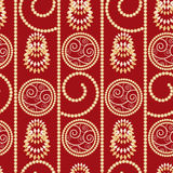 Christmas and New Year seamless pattern Royalty Free Stock Images