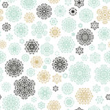 Christmas and New Year seamless pattern. EPS 10 vector Royalty Free Stock Image