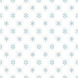 Christmas New Year seamless pattern with snowflakes. Holiday background. Snowflakes. Xmas winter blue decoration Royalty Free Stock Photo