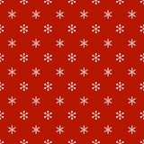 Christmas New Year seamless pattern with snowflakes. Holiday background. Snowflakes. Xmas winter trendy decoration Stock Image