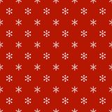 Christmas New Year seamless pattern with snowflakes. Holiday background. Snowflakes. Xmas winter trendy decoration Royalty Free Stock Image