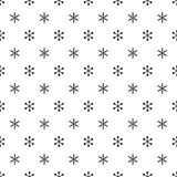 Christmas New Year seamless pattern with snowflakes. Holiday background. Snowflakes. Xmas winter trendy decoration Royalty Free Stock Photos
