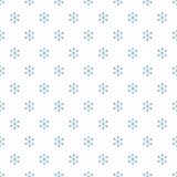 Christmas New Year seamless pattern with snowflakes. Holiday background. Snowflakes. Xmas winter blue decoration. Festive texture. Hand drawn vector Royalty Free Stock Image