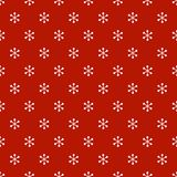 Christmas New Year seamless pattern with snowflakes. Holiday background. Snowflakes. Xmas winter trendy decoration Stock Photos