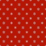 Christmas New Year seamless pattern with snowflakes. Holiday background. Snowflakes. Xmas winter trendy decoration Royalty Free Stock Photography