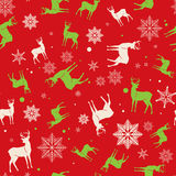 Christmas and New Year seamless pattern. For wrapping paper pattern. vector illustration