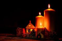 Christmas and New Year snug homish background Stock Image