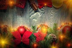 Christmas and New Year snug homish background Stock Photo