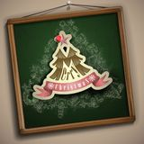 Christmas And New Year Symbols. Royalty Free Stock Image