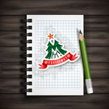 Christmas And New Year Symbols. Stock Images