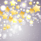 Christmas and New Year theme abstraction. Vector Stock Photo