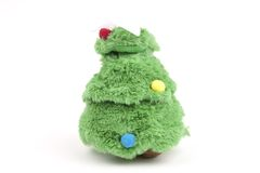 Christmas and New Year toy tree Royalty Free Stock Photography