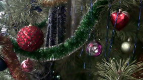 Christmas New Year Toys Background stock footage