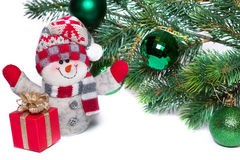 Christmas and New Year Royalty Free Stock Images