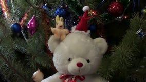 Christmas New Year Tree Video Hd stock video