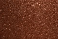 Christmas New Year Valentine Day Brown Glitter background. Holiday abstract texture fabric. Element, flash. stock image