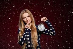Christmas, New Year, winter holidays celebration Royalty Free Stock Image