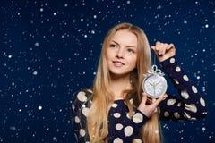 Christmas, New Year, winter holidays celebration Stock Photos