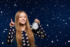 Christmas, New Year, winter holidays celebration Stock Photo